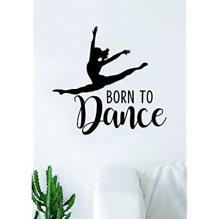 BALLERINA Wall Decal Stickers Home room Decor Art Removable Type 3 M