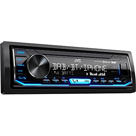 Jvc Kd X451dbt Digital Media Receiver Mit Bluetooth Freisprechfunktion Und Digitalradio Dab Schwarz Navigation