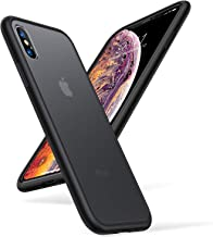 TORRAS Shockproof Compatiable with iPhone Xs Case/iPhone X Case, [4FT Military Drop Protection] Translucent Matte Hard PC ...