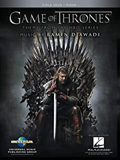 Game of Thrones: Theme from the Hbo Series; Viola Solo, Piano