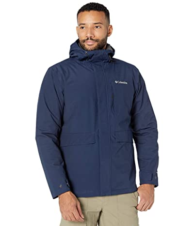 Columbia Firwoodtm Jacket (Collegiate Navy/Black Heather) Men