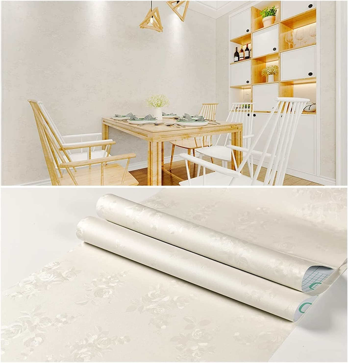 KUYUC Max 86% OFF Sale price Peel and Stick Wallpaper PVC Adhesive Paper Self Contact