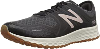New Balance Women's Kaymin Trail v1 Fresh Foam Trail Running Shoe, Black, 5 B US