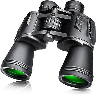 Prismáticos 10x50 Slokey – Binoculares Largavista Profesionales, de Largo Alcance y Potentes para Adultos. Ideales para Ca...