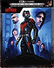 Ant-Man 4K Limited Edition Steelbook (4K Ultra/Blu-Ray/Digital)