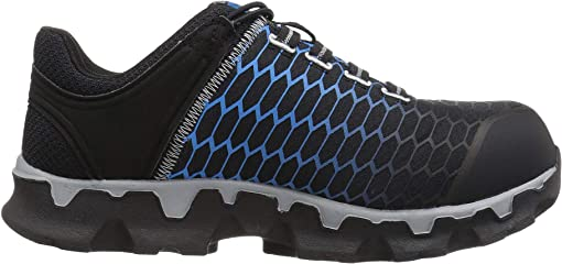 Black/Blue Ripstop Nylon