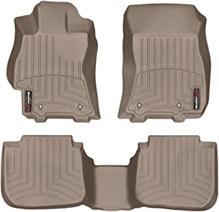 WeatherTech Custom Fit FloorLiner for Subaru Legacy/Outback - 1st & 2nd Row (Tan)