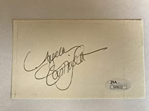 ANGELA CARTWRIGHT SIGNED 3X5 INDEX CARD JSA COA AUTOGRAPH LOST IN SPACE