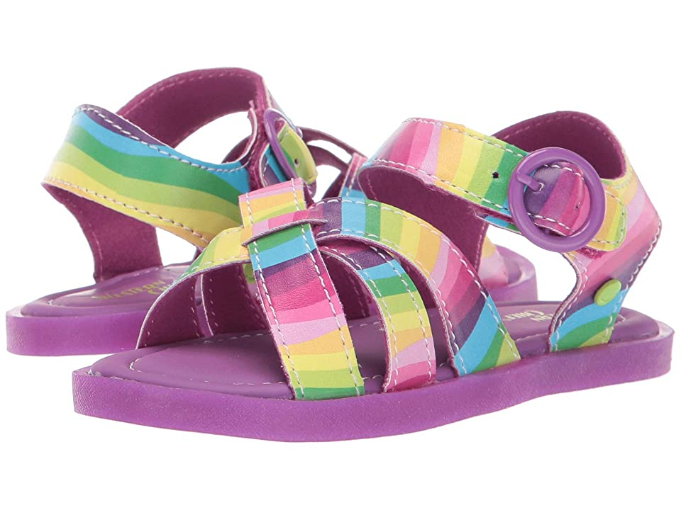 Western Chief Kids Picnic Sandal (Toddler/Little Kid) (Rainbow Multi) Girls Shoes