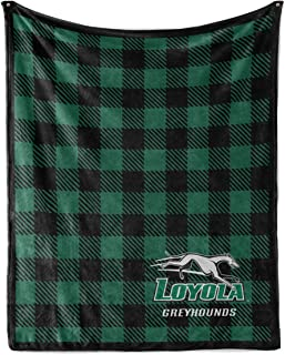 Official NCAA Loyola Greyhounds - Light Weight Fleece Blanket 2 sizes