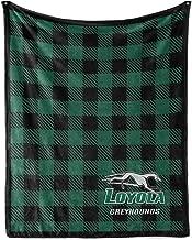 Official NCAA Loyola Greyhounds - Light Weight Fleece Blanket 2 sizes