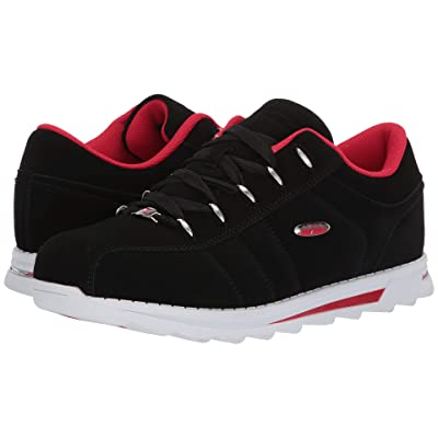 Lugz Charger II (Black/Mars Red/White) Men