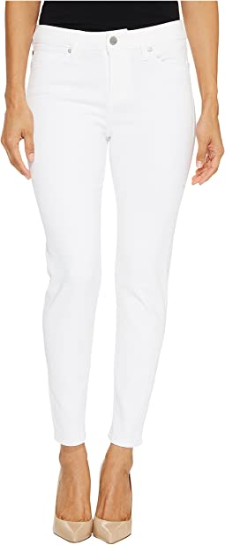 Petite Penny Ankle Skinny on Super Soft Stretch Denim in Bright White