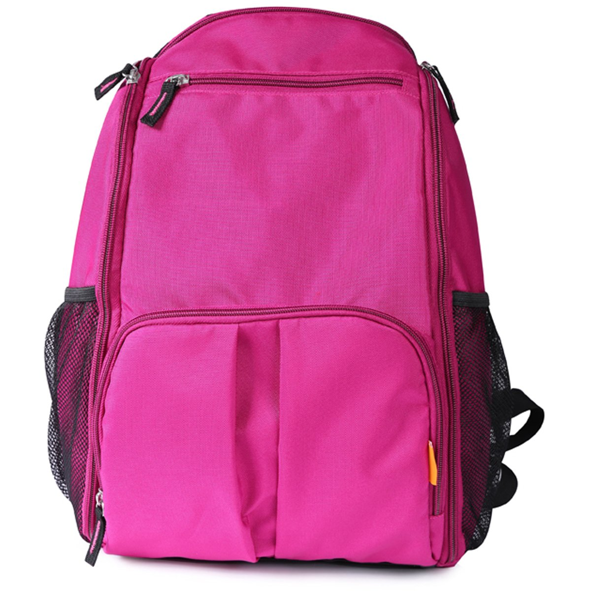 Heine 海恩多功能双肩背妈咪包YA10087紫色(18个口袋;附送隔尿垫、奶嘴袋、收纳袋)