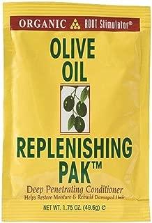 Organic Root Stimulator Olive Oil Replenishing Pack, 1.75 oz (Pack of 4)