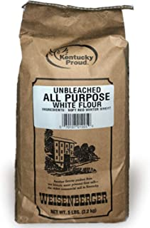 Weisenberger All Purpose Flour - Premium Unbleached White Flour for Baking - Flour For Cake, Pastry, Quick Bread, and More...