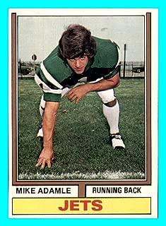1974 Topps #149 Mike Adamle RC VINTAGE ROOKIE NEW YORK JETS NORTHWESTERN (nrmt) American Gladiators Host