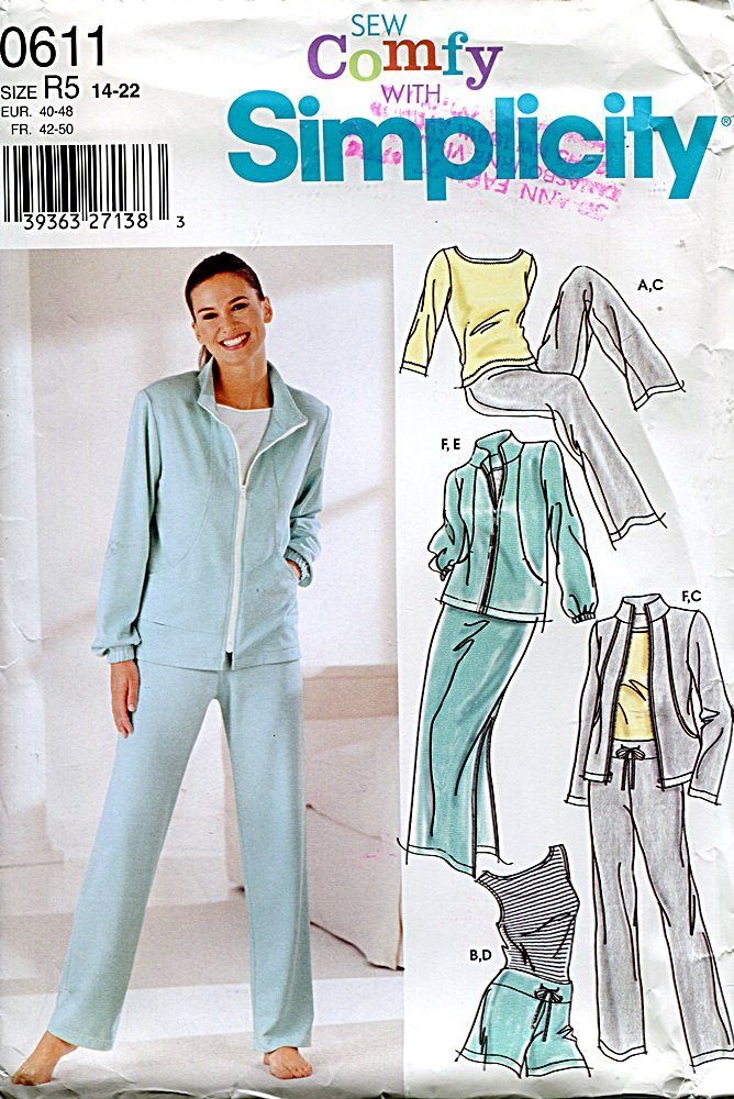 One Size Simplicity Creative Patterns UV5124OS Shorts or Pants