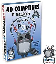 40 comptines et 10 exercices pour faire du sport ( 2CD + Livret)