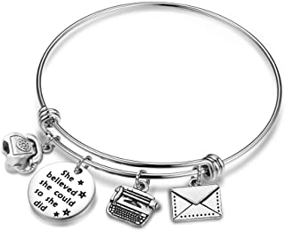 CHOROY Secretary Bracelet Gift Administrative Assistant Bracelet Personal Assistant Gift Coworker Gift Employee Appreciation Gift