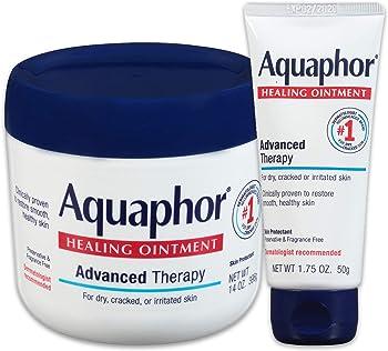 Aquaphor Advanced Therapy Healing Ointment 14 oz. Jar + 1.75 oz. Tube
