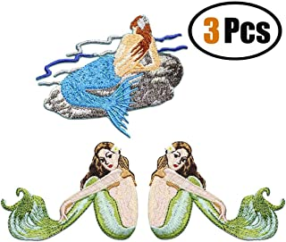 Best mermaid embroidery applique Reviews
