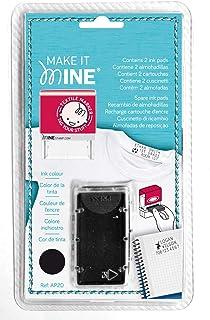MINE Stamp Ink Cartridge, Black (039615), Black