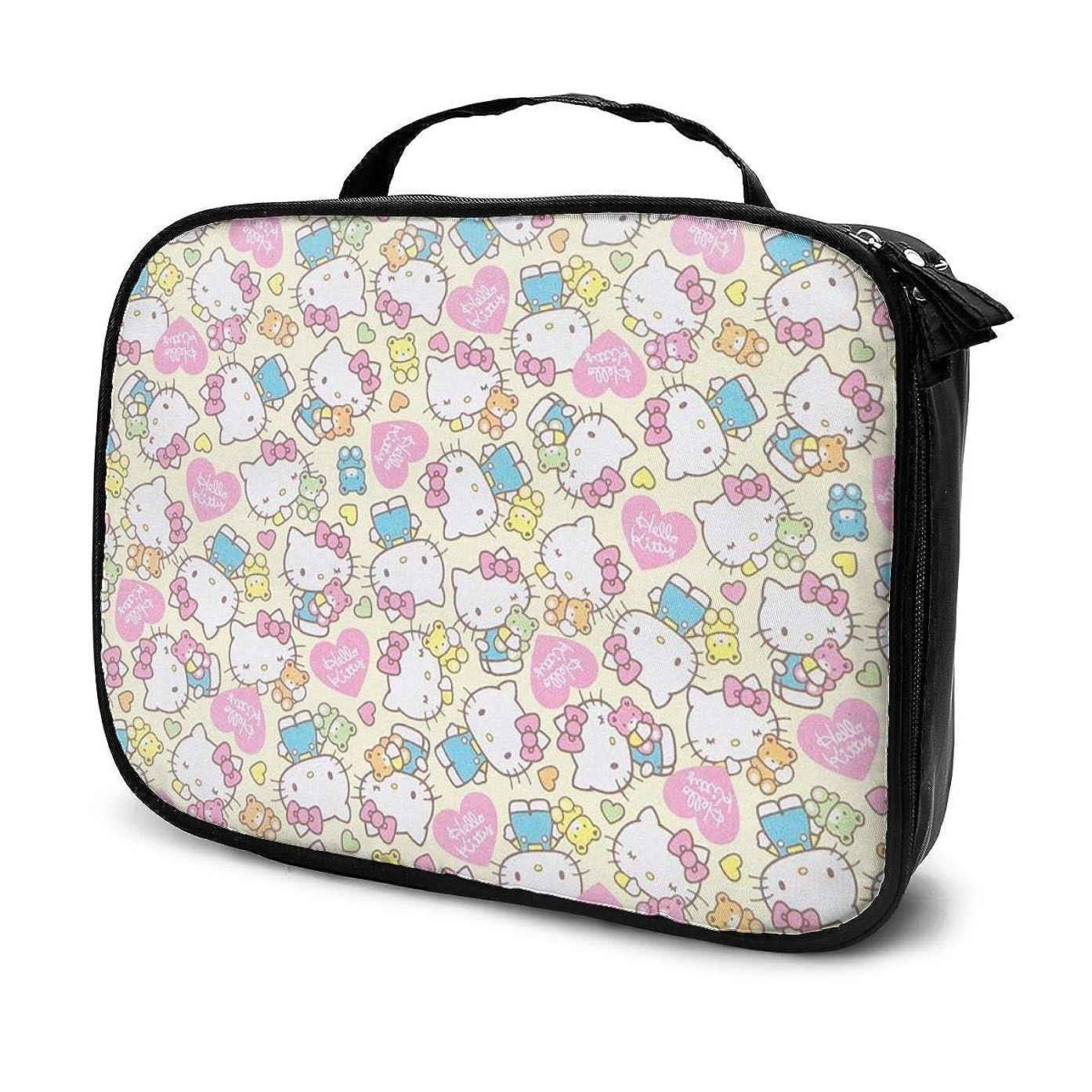 スロープクリップ蝶印象Daituハローキティ 化粧品袋の女性旅行バッグ収納大容量防水アクセサリー旅行