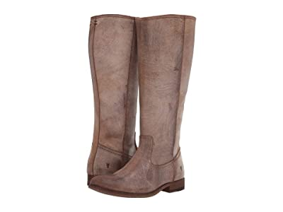 Frye Melissa Inside Zip Tall (Chocolate Extended) Women