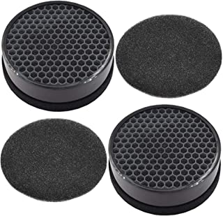 2-Sets Replacement True HEPA and Activated Carbon Filters Compatible with LEVOIT Air Purifier LV-H132,Compare to Part # LV-H132-RF