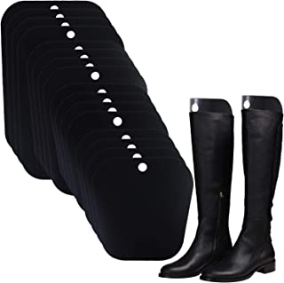 Ruisita 8 Pairs (16 Sheets) Reusable Boot Shaper Form Inserts Boots Tall Support for Women or Men