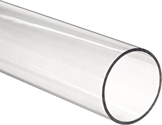 Clear Polycarbonate Tubing, 1-5/8