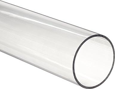 1.00 OD x .875 ID x .063 Wall Polycarbonate Round Clear Tube//Tubing