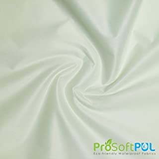 ProSoft Waterproof 2 mil PUL Fabric (Made in USA, Celery, sold by the yard)
