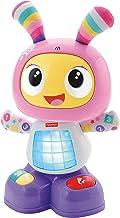 Fisher-Price - Robot interactivo Robita - color rosa y morado - juguetes educativos - (Mattel FBC99)