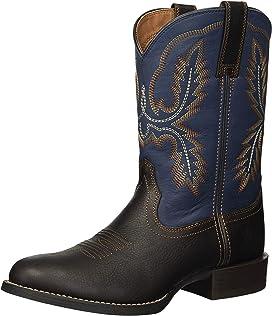 24c67de9893 Roper Ostrich Print Square Toe Cowboy Boot   Zappos.com
