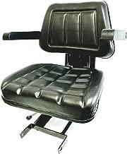 008000167B91 Complete Seat, Black Mahindra Tractor 4500 5500 6000 6500