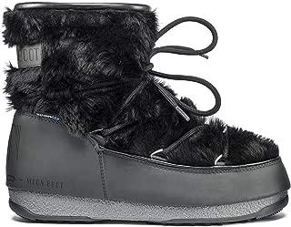 Moon Boot Womens Monaco Low Fur Waterproof 2 Ankle Winter Skiing Boots