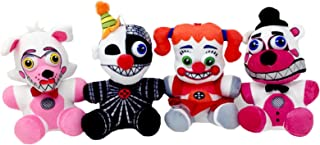 Five Nights at Freddy's Sisters Plush Toy Set of 4 (Ennard, Funtime Foxy, Funtime Freddy, Circus Baby)