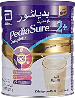 PediaSure Complete And Balance Nutrition Vanilla Flavour For 2-10 Years Old, 1600g