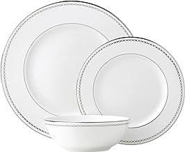 Lenox Pearl Platinum 3 Piece Place Setting dinnerware sets