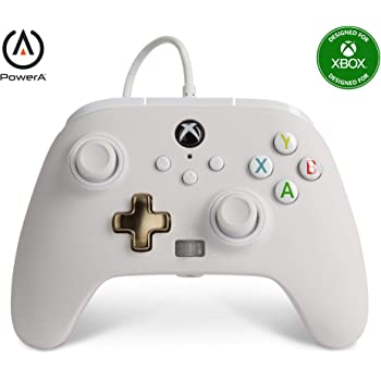 PowerA Enhanced Wired Controller for Xbox - Mist, Gamepad, Wired Video Game Controller, Gaming Controller, Xbox Series X S, Xbox One - Xbox Series X
