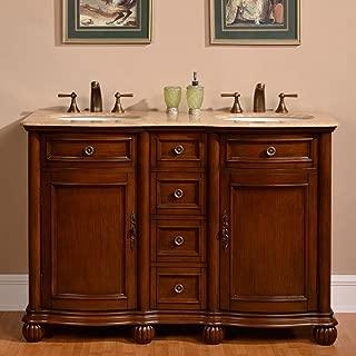 Best 52 inch double sink bathroom vanity Reviews