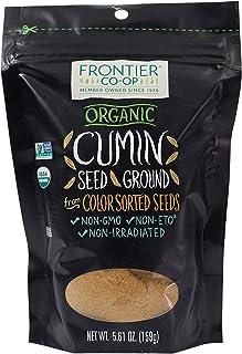 Frontier Co-op Cumin Seed Powder, Certified Organic, Kosher | 5.61 oz Resealable Bag | Cuminum cyminum L.