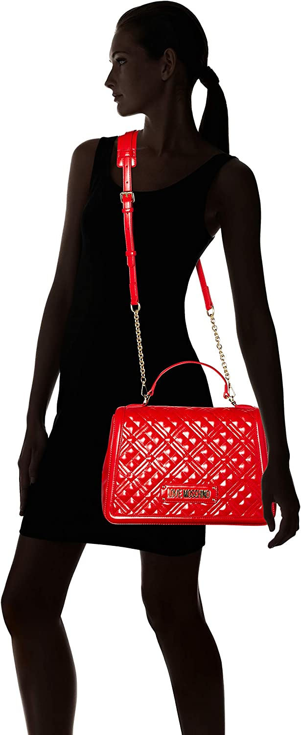 Love Moschino Borsa Quilted Nappa Pu, Fashion Rouge