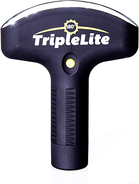 TripleLite 180 Degree LED Flashlight Super Bright Over 420 Lumen Light