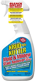 KRUD KUTTER MS324 Mold and Mildew Stain Remover, 32 oz, 30-40 Ounces, White