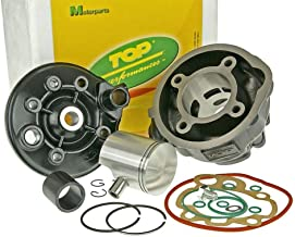 9931370 GRUPPO TERMICO /Ø 47 AIR COOLED COMPATIBILE CON MBK BOOSTER SPIRIT 50 2T 1996 2000 TOP PERFORMANCE BLACK TROPHY