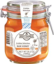 Breitsamer Golden Selection Honey Flip-Top Jar, 35.2 Ounce