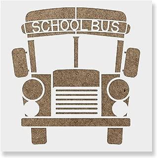 bus stencil